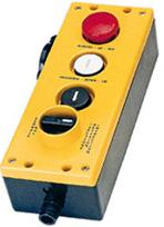 Pulsantiere per manutenzione e ispezione di impianti di ascensori