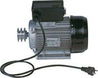 Motore elettrico per betoniera