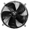 ventilatore assiale rotore esterno